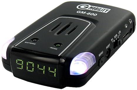 G-Mobility GM-600 - Avisador de radares y zonas de riesgo GPS para