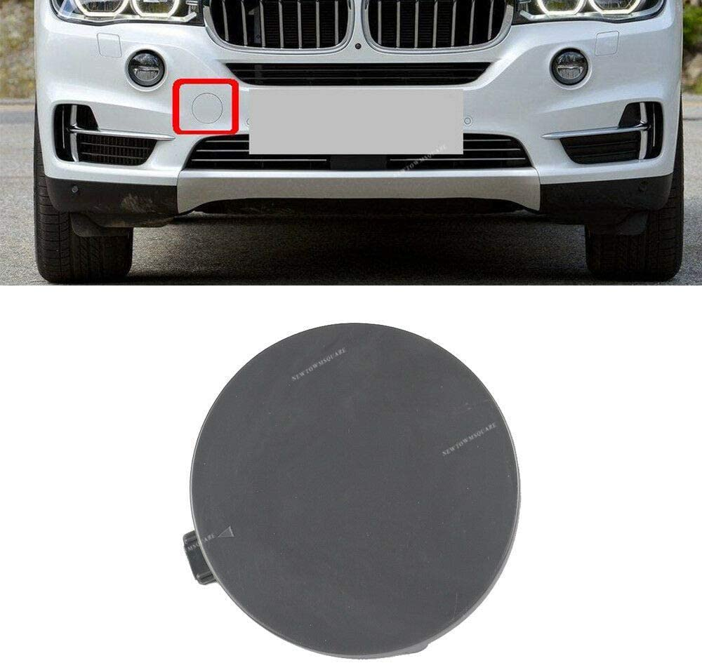 Gofavorland Front Bumper Tow Hook Eye Cover Cap Insert Unpainted for BMW X5 F15 2014 Fits 51117378591
