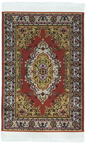 Darice Timeless Minis, Polyester Persian Rug for sale  Delivered anywhere in USA