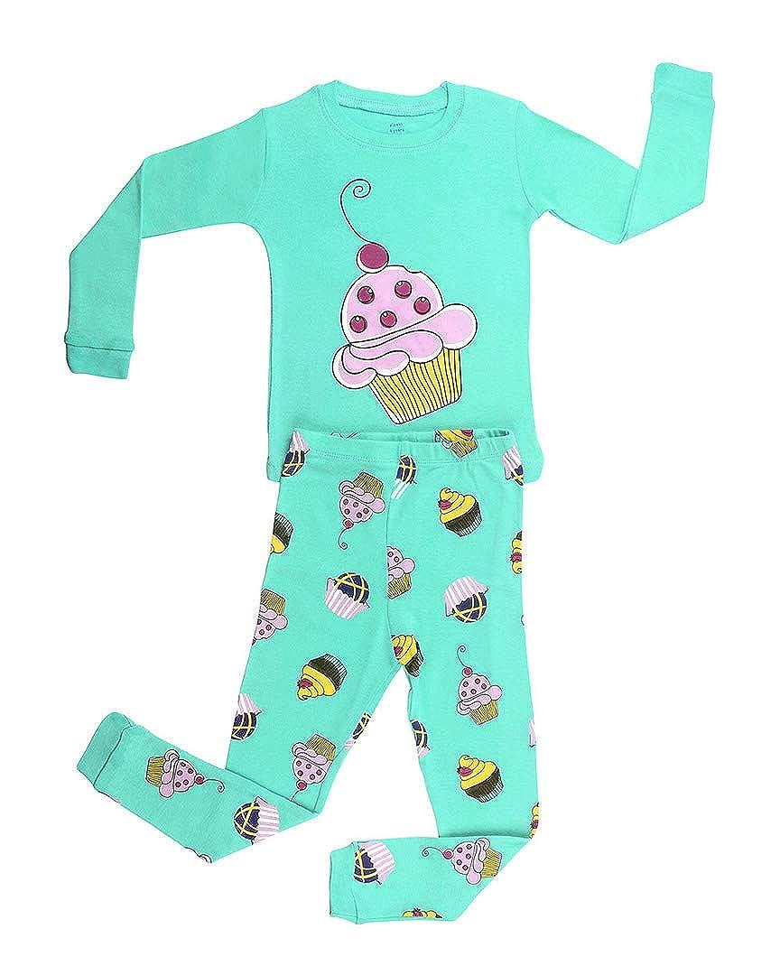 【オープニングセール】 Elowel Girlsカップケーキ2 piecekids Childrensパジャマセット100 %コットン( B01NCB3OII 6 m-8y 6 ) ) 12 - 18 Months グリーン B01NCB3OII, ポジティブ:0ff6a71d --- a0267596.xsph.ru