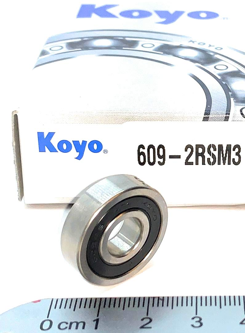 Bearing 609 2RS 609 2rs 609RS 609 2rs 609 RS dimension 9x24x7 KOYO JAPAN