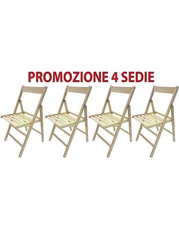 Vendita Sedie Pieghevoli Roma.Sedie Pieghevoli Da Giardino Amazon It
