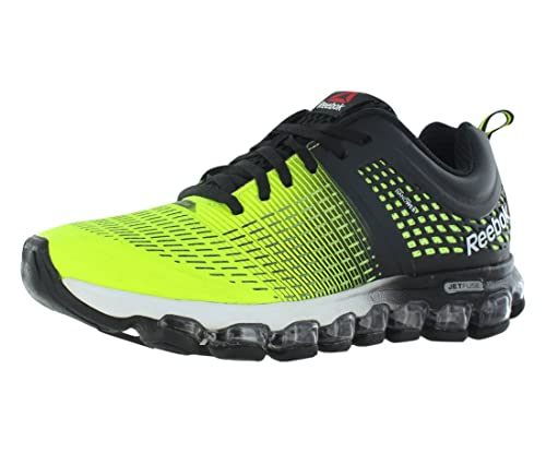 e0255593014 Reebok Men s Zjet Run Running Shoe Solar Yellow   Black   White 10.5 D(M)  US  Buy Online at Low Prices in India - Amazon.in