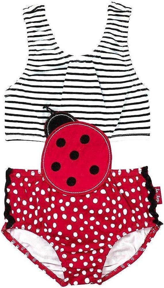 le top Baby Girls Ladybug Monokini Bikini Swim Suit