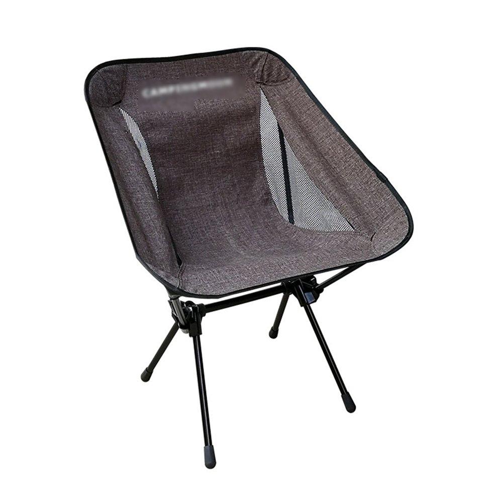 ZGL 旅行椅子 屋外折りたたみチェア超軽量レジャーチェアポータブル釣りスツール多機能アームチェアキャンプ用ビーチチェア (色 : ブラウン ぶらうん) B07DK8FS8L  ブラウン ぶらうん