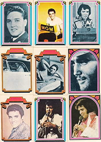 ELVIS PRESLEY 1978 DONRUSS COMPLETE BASE CARD SET OF 66