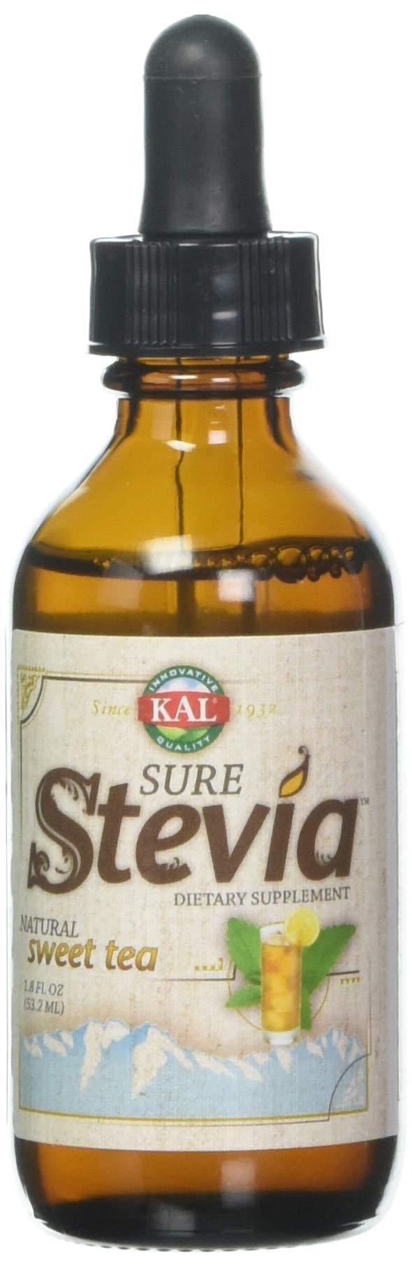 Kal Sure Stevia Extract, Sweet Tea, 1.8 Fluid Ounce