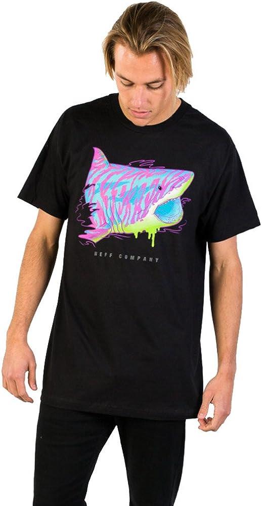 Neff Mens Tiger Shark Short Sleeve T-Shirt 16P29009