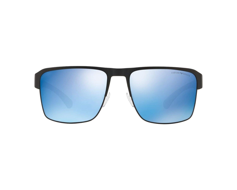 Amazon.com: Gafas de sol Emporio Armani EA 2066 300155 mate ...