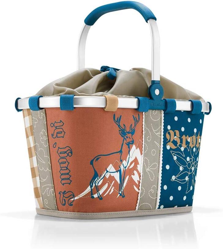 reisenthel Bavaria Serie mit Zugabe Einkaufskorb Tasche Shopper Reisetasche Rucksack Beutel Allrounder m + Hirsch Blue