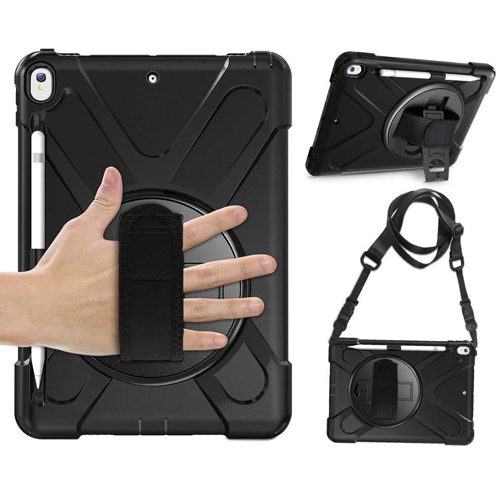 大洲市 Gzerma iPad Air 鉛筆ホルダー付き 10.5インチケース 鉛筆ホルダー付き 安全 B07Q7ZLHDH 耐衝撃 10.5インチ シリコンフルボディ保護カバー iPad Air 10.5インチ 2019/iPad Pro 10.5インチ 2017用 SP1220US02-BK01 ブラック B07Q7ZLHDH, 古典:22af4f64 --- a0267596.xsph.ru