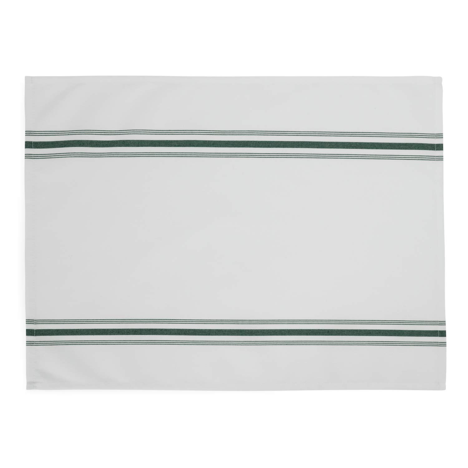 100 Wholesale Cloth Dinner Bistro Napkins in Bulk Scotchgard soil release finish for durability and easy care 18 x 22 Inches with French stripes Professional restaurant quality towels