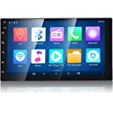 WZTO 7 Inch Double Din Android Car Stereo Multimedia Radio,GPS Navigation HD Touchscreen Receiver,Bluetooth,Audio,WiFi…