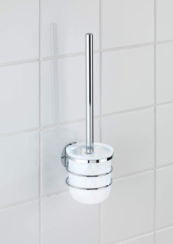 Wenko 21787100 Turbo-Loc WC-Garnitur, Befestigen ohne Bohren, Edelstahl rostfrei, 10 x 37 x 12,5 cm, glänzend B00XHP4XPI WC-Bürsten & Halter