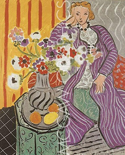 Purple Robe and Anemones, 1937 by Henri Matisse 11
