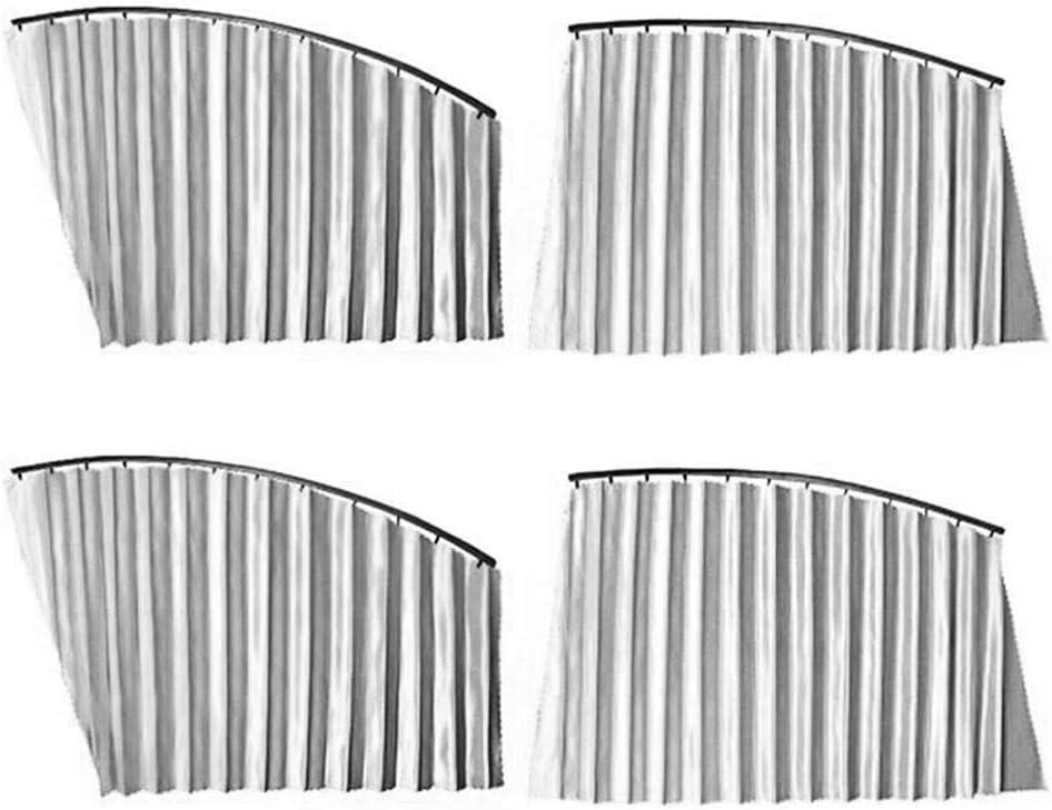 Pare-Soleil Fen/être de Voiture Animaux Domestiques Installation Facile Chaussette Voiture Soleil pour Lunette Arri/ère Protection UVA Maximale pour B/éb/és Pare Soleil Voiture B/éb/é- 4 Pi/èces
