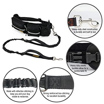 Amazon Com Hands Free Dog Leash Dog Walking And Training Belt