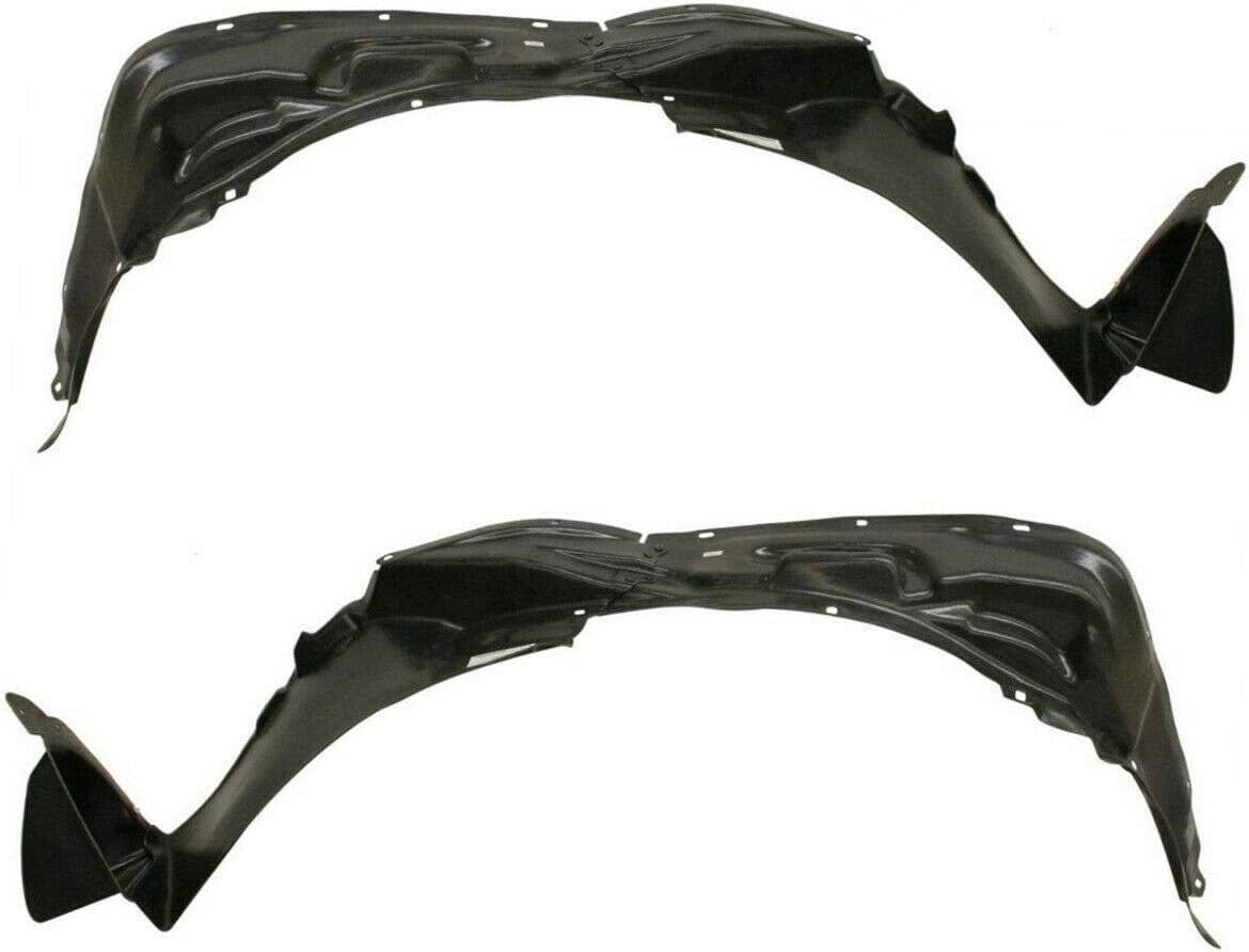 Fender Liners Set For 2004-2009 Toyota Prius Front Driver /& Passenger Side