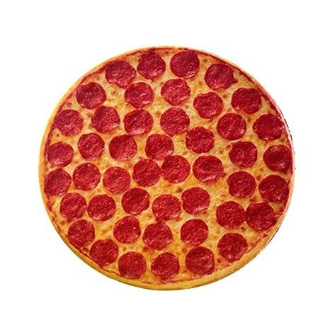 Almohada de cojín de cojines de estilo de pizza de ...