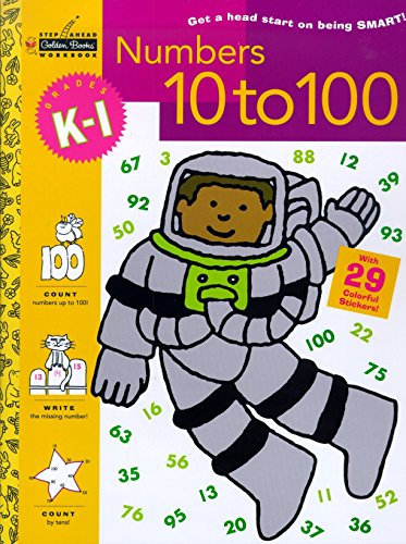 Math Concepts Step - Numbers 10 to 100 (Grades K - 1) (Step Ahead)
