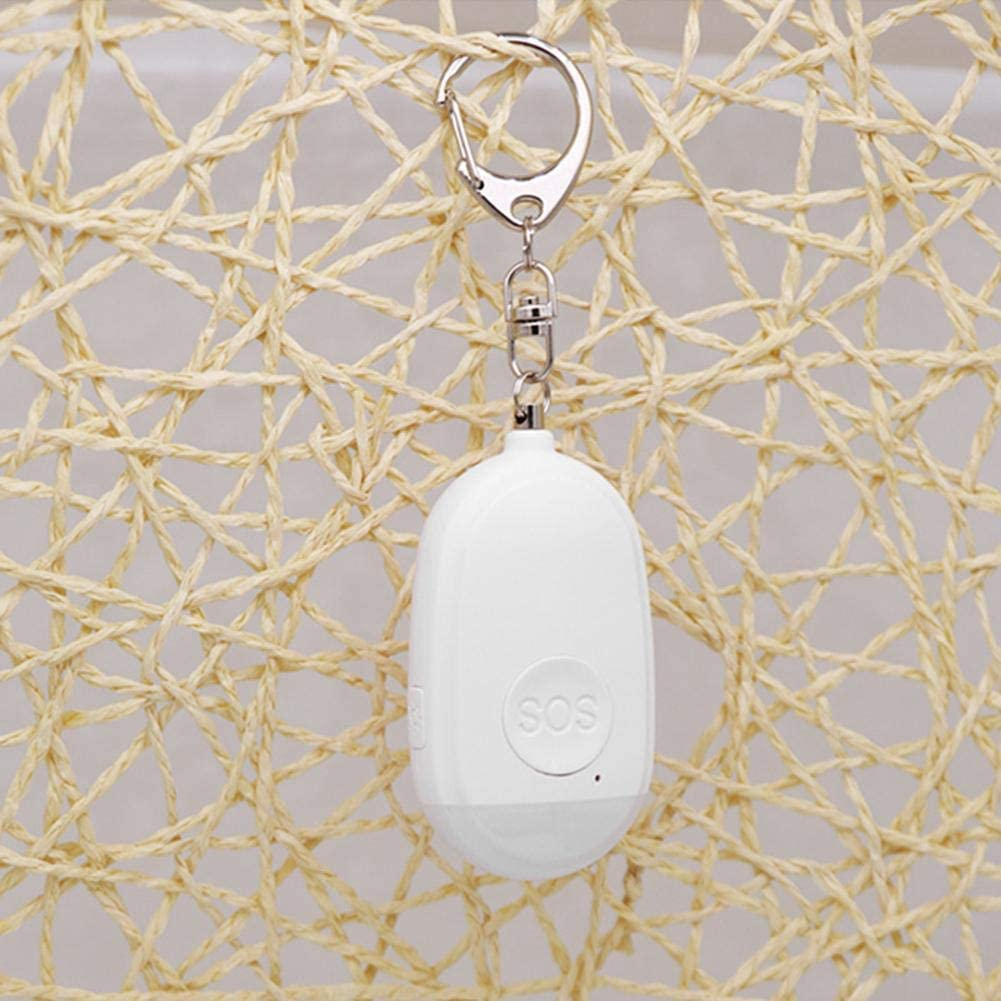 Alarmes de poche portables rechargeables pour lauto-d/éfense Alarme personnelle pour les femmes 130DB Porte-cl/és dalarme de s/écurit/é dauto-d/éfense durgence