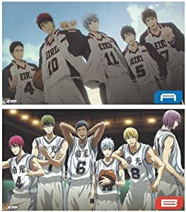 Set of 2 basketball Deluxe Clear Poster Makoto Rin of Kuroko, generation of miracle (japan import)