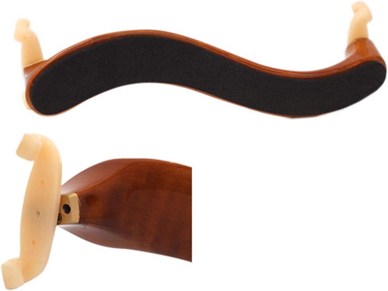3//4/&4//4 Size Violin Shoulder Rest; Deluxe Comfortable Maple Wood Violin Shoulder Rest Shoulder Rests Musical Instruments Accessories; Gift for Fiddler /& Violin Player; Darkgoldenrod