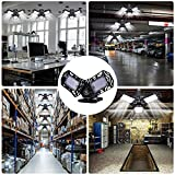 QiyuanLS 2-Pack LED Garage Lights 40W, 4000LM 6000K