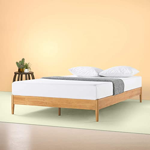 ZINUS Amelia Wood Platform Bed Frame / No Box Spring Needed / Wood Slat Support / Easy Assembly