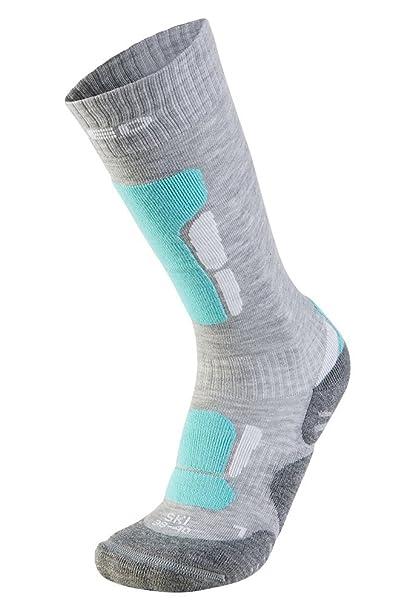 48162b7f0f2ab9 XAED - calzini da sci ergonomici, da donna, 35/37, colore grigio ...