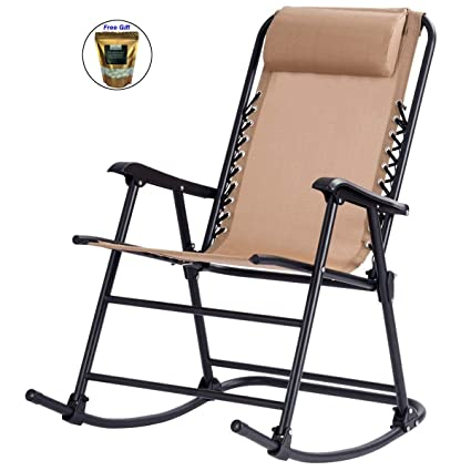 Amazon.com: Silla de patio plegable para exteriores, sin ...