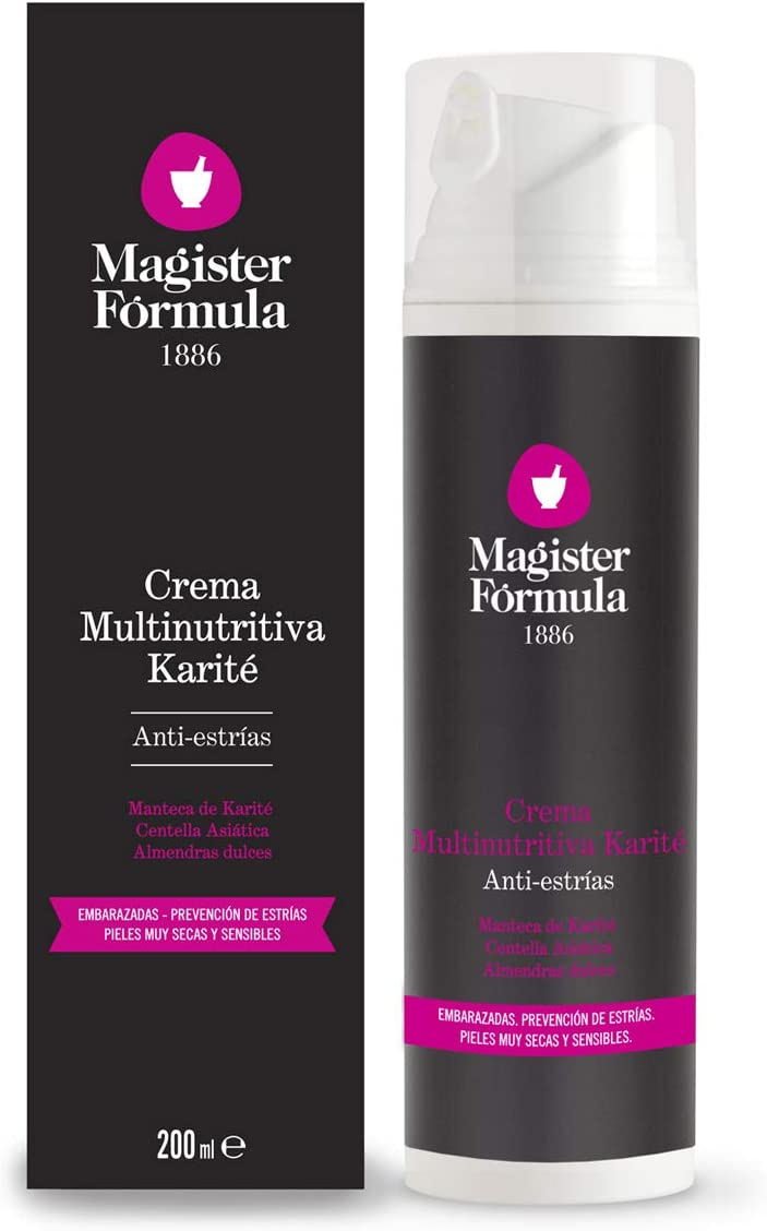 Crema Antiestrías Reafirmante y Multinutritiva 200 ml