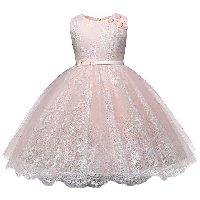 Traje Fiesta de niña, Honestyi Disfraz de Princesa Vestidos de Flores para Bodas Cumpleaños Navidad Halloween Baile Bonito Disfraz de Cuento de Hadas: ...