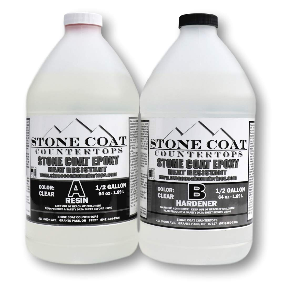 Stone Coat Countertops Epoxy (1 Gallon) Kit by Stone Coat Countertops