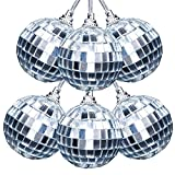 Ivenf 6 Pcs Mirror Ball 2 inch