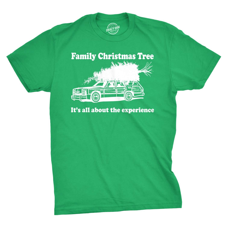 Family Christmas Tree T Shirt Funny Vacation Movie Tee 4880