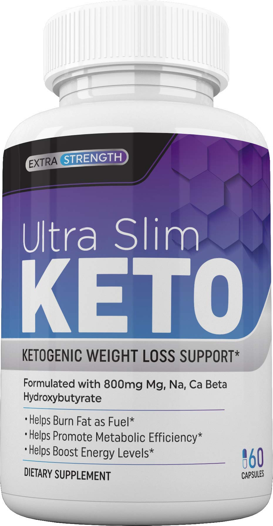 Ultra Slim Keto Pills - Weight Loss, Burn Fat Fast ,Boost Energy and Metabolism, - Best Keto Diet - 60 Capsules