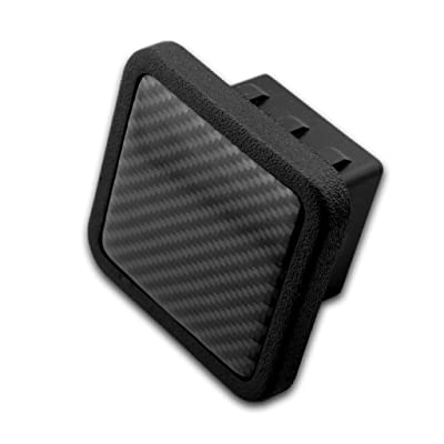 LFPartS 1.25 inch Trailer Hitch Cover Tube Plug Insert Fits1.25 inch Receivers (Carbon Fiber): Automotive