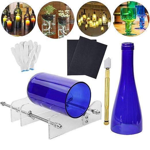 Cortador de botellas de vidrio DIY máquina de corte de vidrio Kit ...