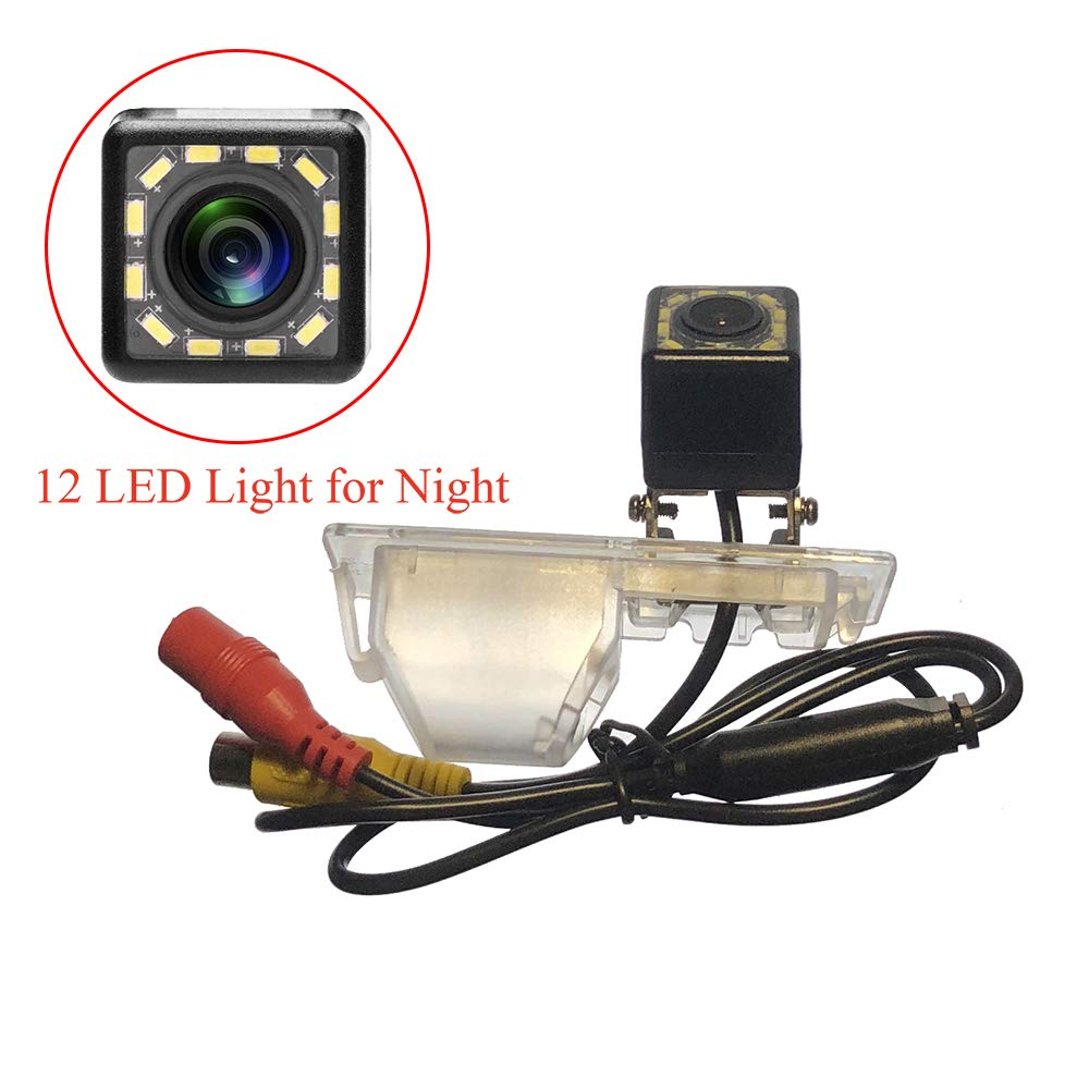 iFine 12 LED LED HD CCD Night /& Adjustable Angle Car Rear View Camera for Buick Excelle GT//Buick Lacrosse//Allure//Buick Encore//Opel Mokka//Buick Envision /& Waterproof and Shockproof Reversing Backup Camera