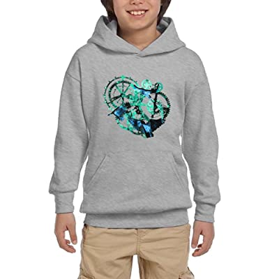 Steampunk Hummingbird Youth Unisex Hoodies Print Pullover Sweatshirts