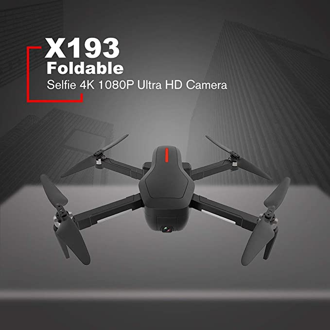 Heaviesk X193 RC Drone Plegable GPS 5G WiFi FPV Drone con Selfie ...