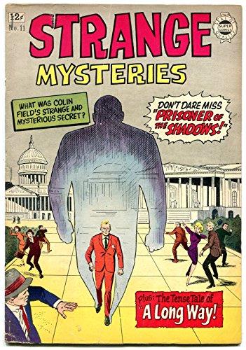 Strange Mysteries #11 1963- Super Golden Age horror pre-code reprints- G/VG