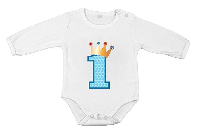 Regalo por Primer cumpleaños Body algodón recién Nacido ...