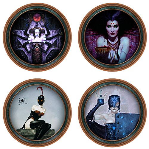 Dark Horse Deluxe Brom Darkwerks Coaster Set ()