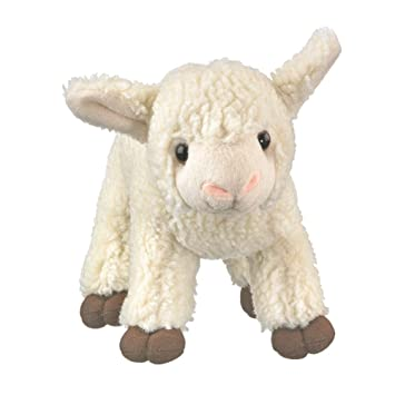 Amazon Com Wildlife Artists White Lamb 9 Inch Plush Stuffed Animal
