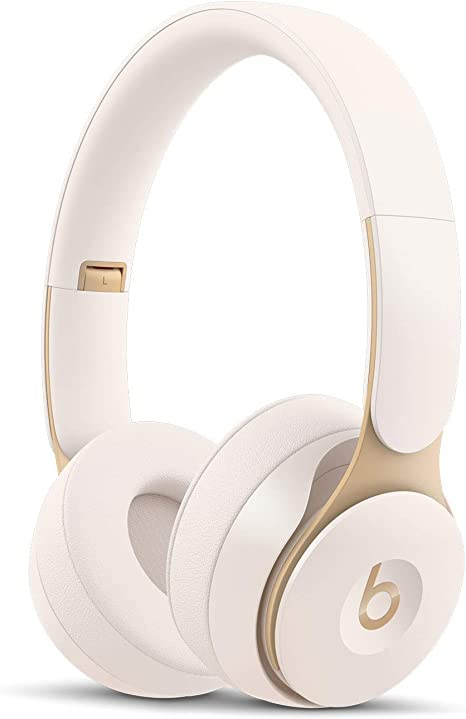 Beats Solo Pro con cancelación de ruido - Auriculares supraaurales inalámbricos - Chip Apple H1, Bluetooth de Clase 1, 22 horas de sonido ininterrumpido - Marfil: Beats: Amazon.es