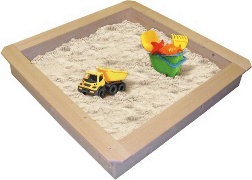 beluga Spielwaren 50351 - Sandkasten, natur