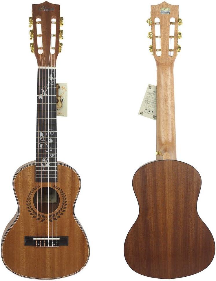 chendongdong - Guitarra mini o de viaje, con cuerda libre y bolsa