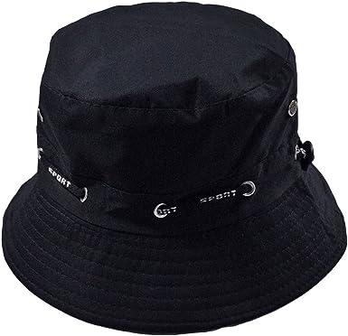 LOPILY Verano Sombrero de Sol Plegable Hombres Mujeres Unisex ...
